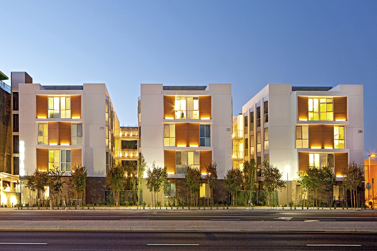 Quad Student Housing by Safdie Rabines Architects