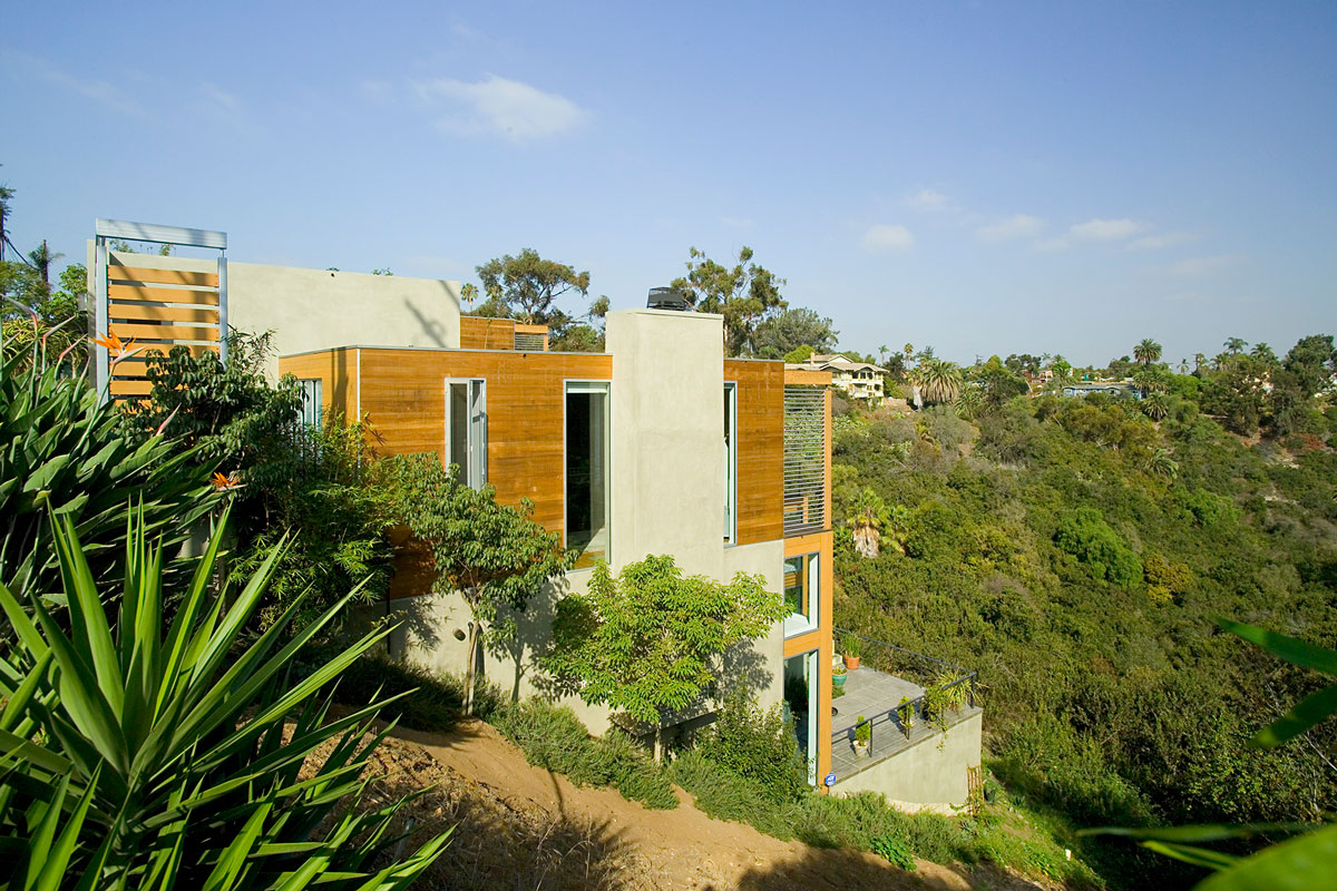 Two canyon houses safdie rabines architects for Canyon house