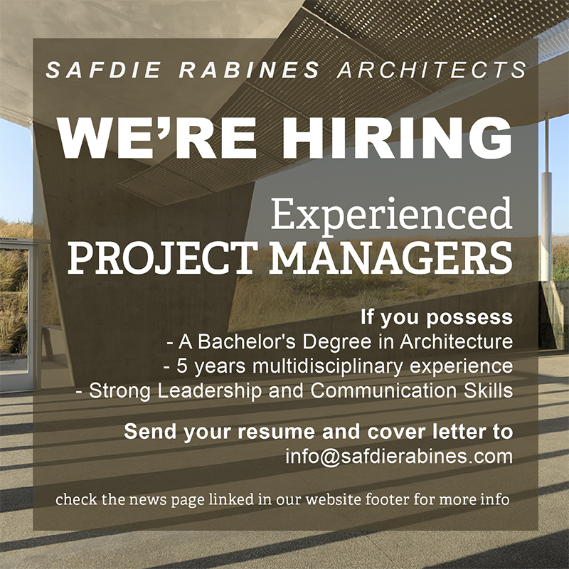 Safdie Rabines is hiring Project Managers