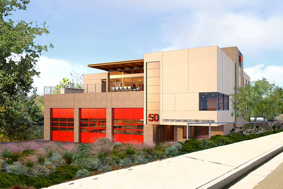 Fire Station 50 | Safdie Rabines Architects