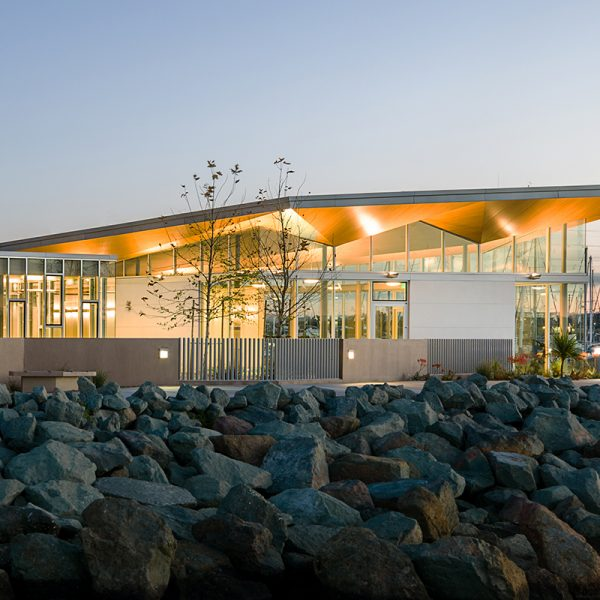 National City Aquatic Center by Safdie Rabines Architects