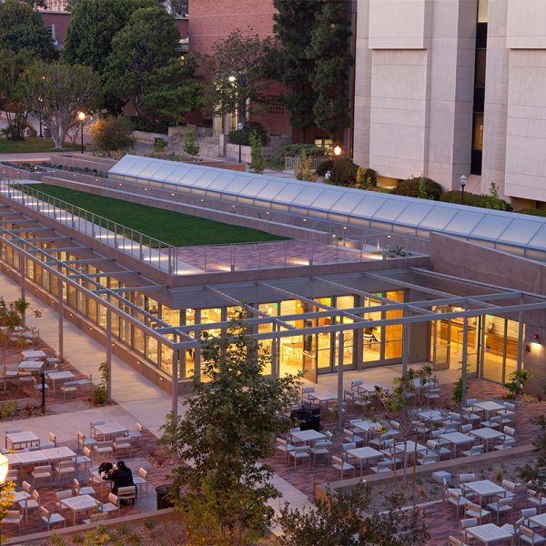 UCLA Student Center by Safdie Rabines Architects