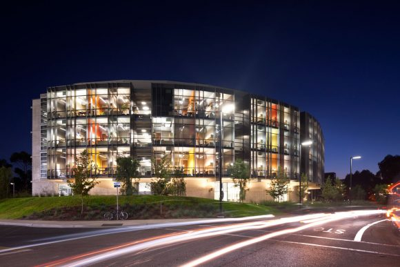 Structural and Materials Engineering Building at UCSD