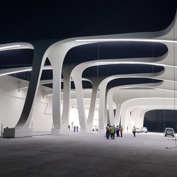 Lusail City's Junction 9 by Safdie Rabines Architects