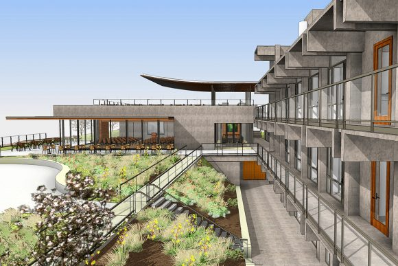 Marine Conservation Facility by Safdie Rabines Architects