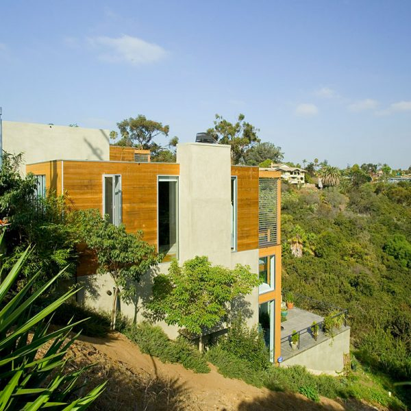 Two Canyon Houses by Safdie Rabines Architects