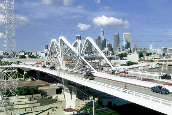 Sixth Street Viaduct by Safdie Rabines Architects
