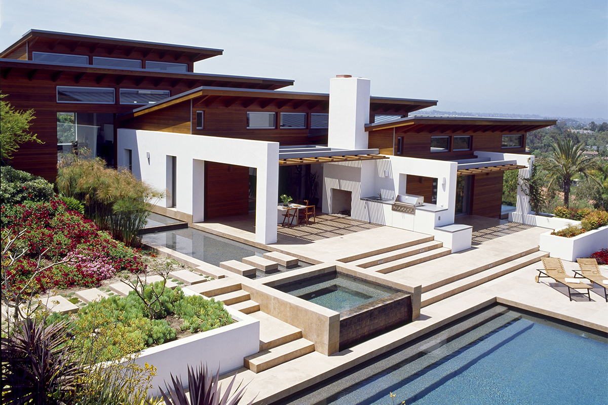 Hilltop House Safdie Rabines Architects