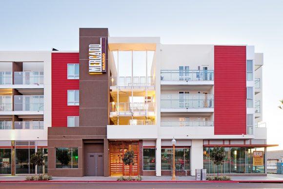 Mercado del Barrio in San Diego, CA by Safdie Rabines Architects