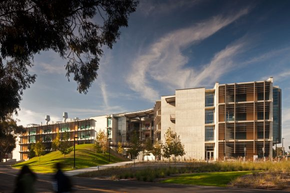 Structural and Materials Engineering Building at UCSD by Safdie Rabines Architects in collaboration with Miller Hull