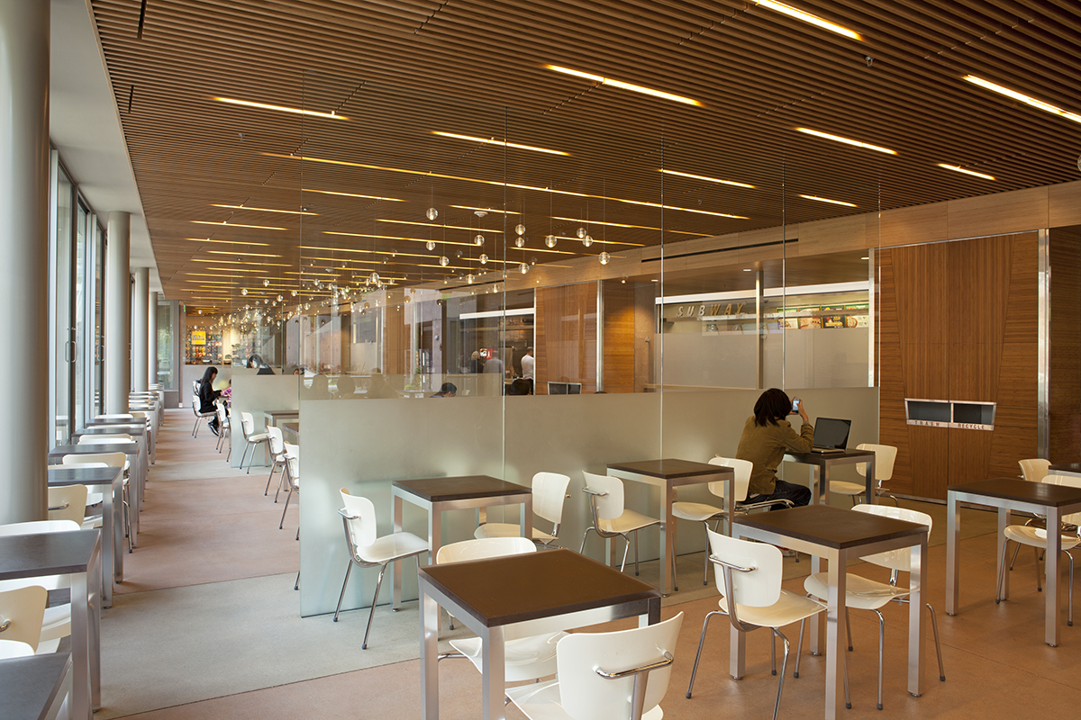 UCLA Student Center by Safdie Rabines Interiors